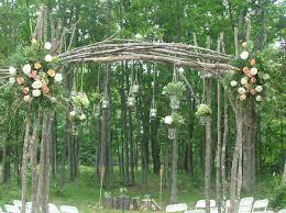 Mason Jars Wedding Arch