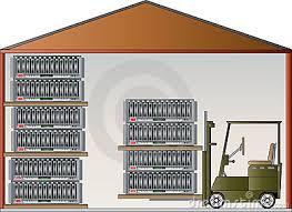 Warehouse Clip Art 153606