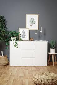 newroom kommode sideboard weiß modern landhaus highboard skandinavische wohnzimmer schlafzimmer flur esszimmer kaufen otto