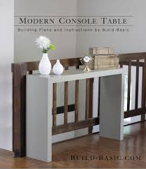Narrow Sofa Table Diy by Narrow Console Tables And Their Extreme Versatility