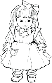 Barbie Doll Coloring Book Pages Games Free Page Download Full Size