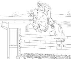 Hanovrian Show Jumping Lineart By StableOfAres On DeviantArt Horse Riding Coloring Pages