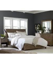 canyon queen platform bed created for macy s furniture macy s