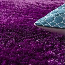 tapis aubergine pas cher tapis salon shaggy tapis shaggy gris chocolat x shaggy with