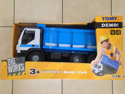 Tomy Big Works Iveco Dump Truck 1:16 Scale Lights And Sound   EBay Long Haul Trucker Newray Toys Ca Inc Wader Gigant Truck For Girls 65006 Without Carton Big Giant Toy American Plastic Gigantic Loader And Dump Hauling Mud Rocks With The Toy State Revup Wheel Image Photo Bigstock Cat 9 Builder Play Room Home Christmas Gift For Adults Only Review Of Awesome Rc Bell 35d Tonka Classic Amazoncouk Games Ertl Farm Peterbilt By Tomy Multicolor Dickie Majorette Pump Action Accsories