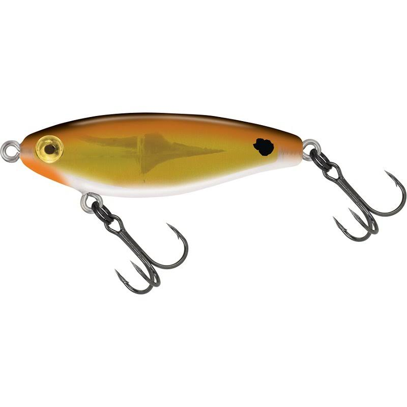 MirrOlure C-eye Pro Series Twitchbait Lure - Copper Back/White Belly