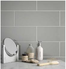 6 x 18 biscuit bright glazed ceramic wall tile