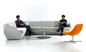 Modern Lobby Furniture Sofa Mesmerizing Office Reception Chairs Throughout Contemporary