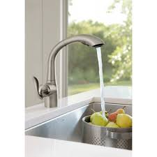 Moen Arbor Kitchen Faucet by Moen 7294srs Arbor Spot Resist Stainless Pullout Spray Kitchen