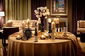 Black And Gold Wedding Centerpiece Ideas Red