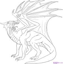 1269x1287 Coloring Pages Endearing Draw A Simple Dragon