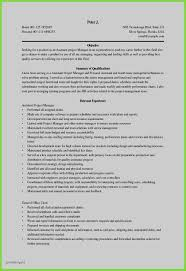 New Resume Template Restaurant Manager As 30 Profile Examples
