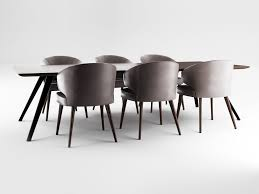 100 Minotti Dining Table Aston Armchair And Evans Cinema 4D 3D Model