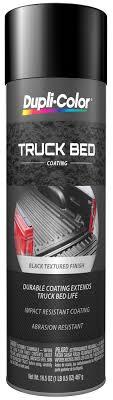 dupli color spray on aerosol black truck bed coating 16 5 oz