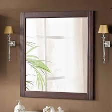 lomadox badspiegel aveiro 56 badezimmer spiegel im landhausstil pinie massivholz braun b h t ca 72 80 4cm