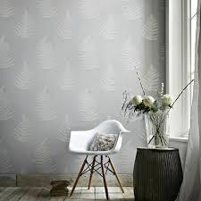 tapete in grau stilvolle vorschläge für wandgestaltung