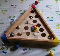 Drieweg Volksspel Wooden Board GamesWood