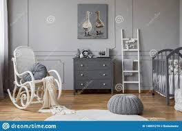 Pouf And Rocking Chair In Grey Baby`s Bedroom Interior With Ladder ... Fantasy Fields Childrens Outer Space Kids Wooden Rocking Chair Vintage Bamboo 1960s Mid Century Boho Rustic Armchair Add A Pop Of Color To Your Nursery Bedroom Or Any Room See How White Bedroom Interior With Dirty Pink Carpet Texan Interior With Bed Rocking Chair Roll Top Flowers Image Photo Free Trial Bigstock Traditional Scdinavian Attic Design Wall Decor Schum Allmodern China Home Fniture Living Room Next Bed Blanket Spacious Cool Baby Nursery Wonderful Iron Man House Of M Bana Rocker Beautiful