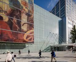 Harlem Hospital Mural Pavilion by Glass Curtain Wall Digital Printing Harlem Hospital Ny