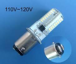 5x ba15d led bulb 64 3014smd warm white 110v for singer sewing