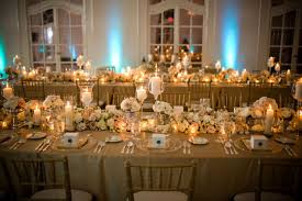 Rustic Summer Wedding Table Decorations White Ideas Gold