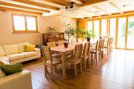 esszimmer mit sofa und klavier visions haus moderne