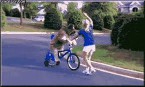 Bike Dogs Gifs Riding Sundog Win Wtf