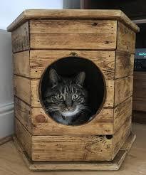 Hexagon Cat House