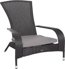 Details About Black Wicker Chair Adirondack Style Outdoor Patio Pool Yard  Garden Gray Cushion 3pc Black Rocker Wicker Chair Set With Steel Blue Cushion Buy Stackable 2 Seater Rattan Outdoor Patio Blackgrey Bargainpluscomau Best Choice Products 4pc Garden Fniture Sofa 4piece Chairs Table Garden Fniture Set Lissabon 61 With Protective Cover Blackbrown Temani Amazonia Atlantic 2piece Bradley Synthetic Armchair Light Grey Cushions Msoon In Trendy For Ding Fabric Tasures Folding Chairrattan Chairhigh Back Product Intertional Caravan Barcelona Square Of Six