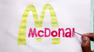 How Can You Draw The Mcdonalds Logo Drawing