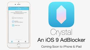 Crystal Is ing An Ad Blocker for iOS 9