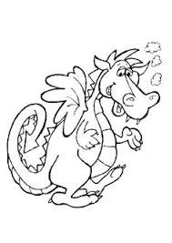 This Dragon Tired Coloring Pages For Kids Printable Dragons
