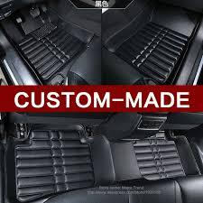 Honda Accord Floor Mats 2007 by Custom Fit Car Floor Mats For Honda Accord 7th 8th 9th Generation