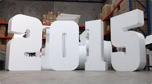 Inspirational Foam Letters