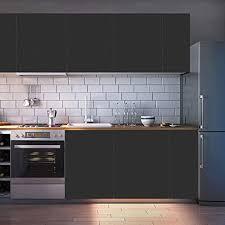 kinlo 61x500cm klebefolie dekofolie möbelfolie tapeten selbstklebende folie matt verdickte küchenschrank aufkleber für möbel schrank tische wand