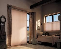 Patio Door Window Treatments Ideas by Installing Sliding Patio Door Blinds