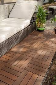 wood teak flooring interlocking deck tiles pool patio tub spa