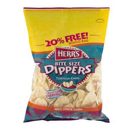 Herr's Bite Size Dippers Tortilla Chips - 13oz