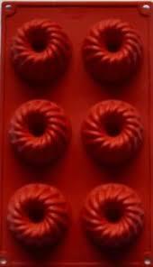 details zu silikon backform mini gugelhupf kuchen eis pudding dessert gugelhupf 6tlg