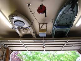 Kayak Hoist Ceiling Rack by Hang Kayak From Ceiling 12411