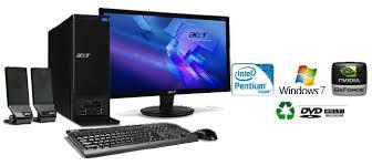 destockage ordinateur de bureau acer aspire x3910 moniteur 18 5 pv sede2 014 achat destockage