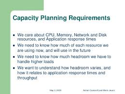 Capacity Planning With Free Tools