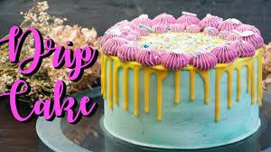 geburtstagstorte backen drip cake selber machen torten rezepte ohne fondant