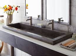 Ikea Double Faucet Trough Sink by Bathroom Trough Sinks For Bathrooms 24 Trough Sink Double Faucet