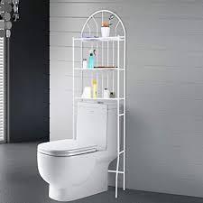 3 stöckiges badezimmer regal über der toilette wc möbel halterung für badezimmer 3 lagig wc regal waschmaschinenregal badregal 176 5 62 33 5 cm