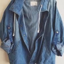 Jacket Cute Vintage Dope Swag Oversized Denim