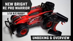 100 New Bright Rc Trucks RC Pro Warrior Buggy Unboxing And Overview YouTube