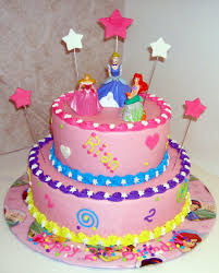 Colorful Disney Princess Party Birthday Cake Toppers Cakes For