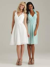custom made halter bridesmaid dress