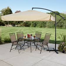 Offset Patio Umbrella With Mosquito Net by Functional Offset Patio Umbrella Patio U0026 Outdoor Large Offset
